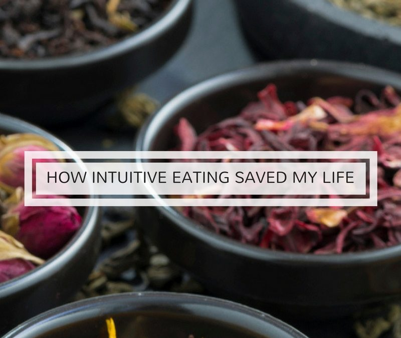 How intuitive eating saved my life