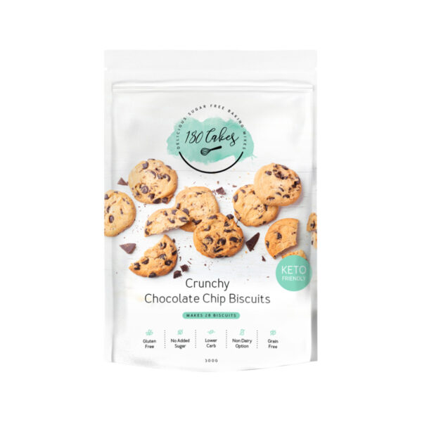 180 Cakes biscuit mix crunchy chocolate chip 300 g