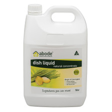 Abode-Dish-Liquid-Concentrate-Ginger-and-Lemongrass-5L